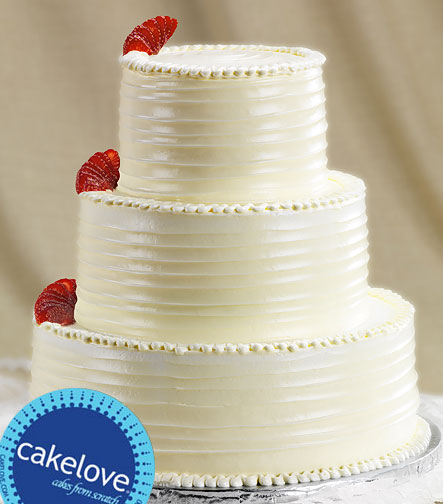 Many people freeze the top layer of their wedding cake and eat it one year